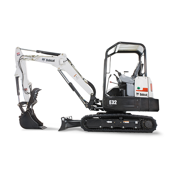 Compact Excavators Bobcat mini excavators provide improved digging performance in a lighter machine. The advanced hydraulic system provides more usable power, consistent and smooth operation, and predictable results every time. Back More Details