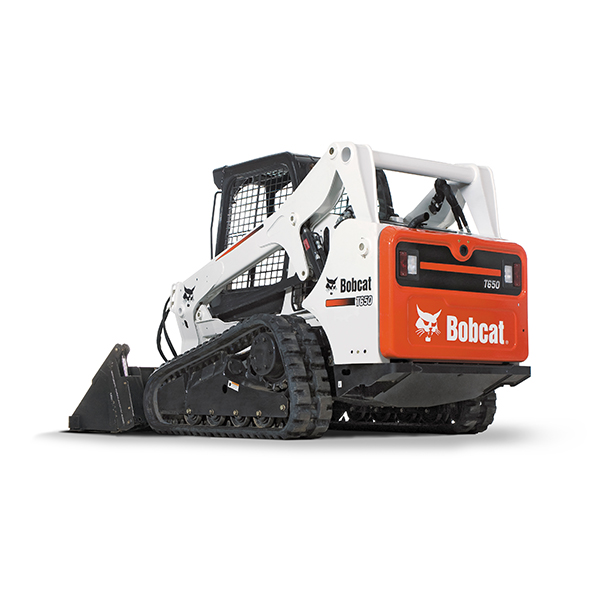 Compact Track Loaders Bobcat® compact track loaders have built a reputation as the industry's most powerful, comfortable, and versatile compact track loaders. When it comes to pushing force, flotation and ground disturbance, other brands can't measure up. Even in soft, sandy wet or muddy conditions, you'll be able to push through and get the job done. A commanding lineup of models offers machine sizes for any task. Back More Details