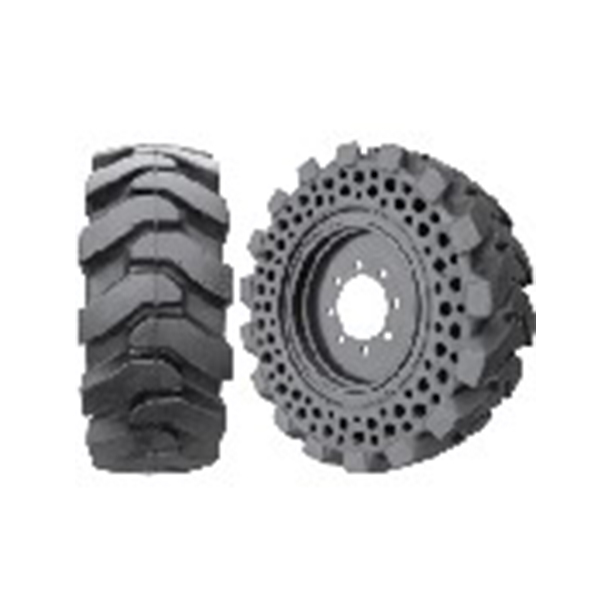 Integrating the strength and stability of solid tires with the smooth, cushioned ride of pneumatic tires, MTRAX offers a plethora of options to improve the safety on your jobsite and drastically boost the performance of your entire equipment.  MTRAX Solid Cushion Tyres suitable for Skid Steer loaders, Telehandlers & Wheel Loaders. Back