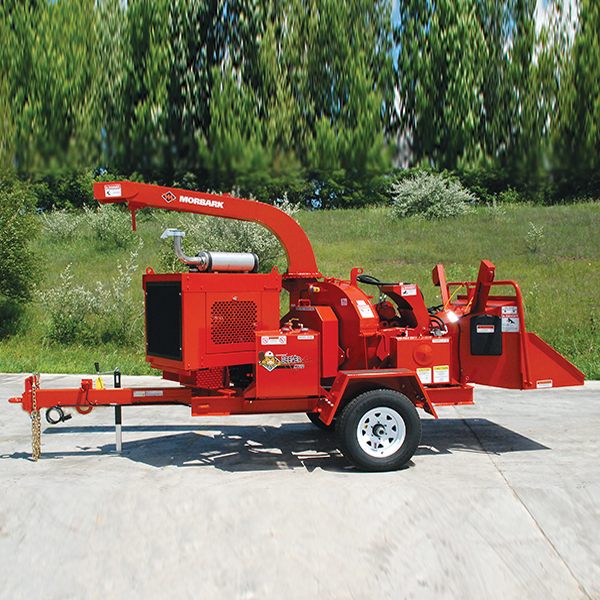 Wood Chippers  Take a look at some of the unique Morbark features that help you reduce downtime,  increase your profit per job, boost resale value, and gain peace of mind. Back More Details