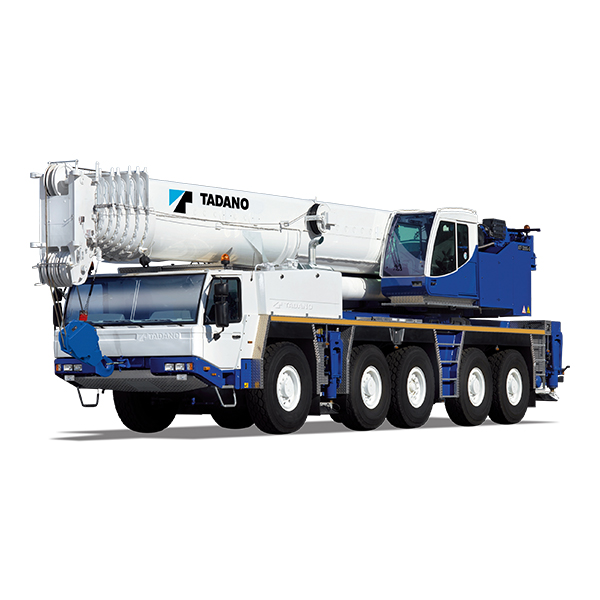 ALL TERRAIN CRANES Versatile cranes with highway speed capacity and maneuverability, ideal for both on and off-road construction and industrial projects. This model can be access to confined job site with all wheel steering. Back More Details