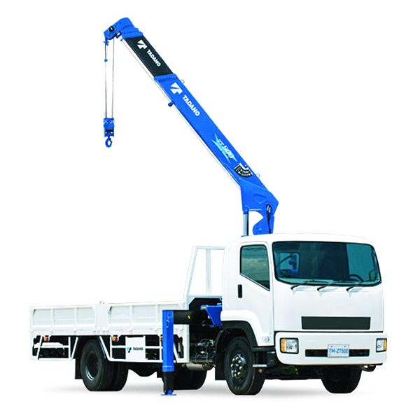 CARGO CRANES  TADANO's truck loader cranes are designed for ease of use along with mobility and safety. This type of crane is also known as 'Loader Cranes'. Back  More Details